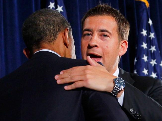 Obama Helps Raise $1 Million for Giannoulias