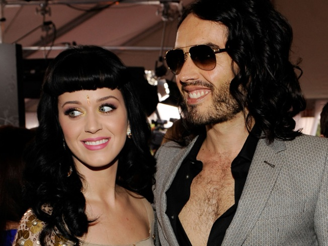 Katy Perry & Russell Brand Celebrate Easter With Backyard BBQ
