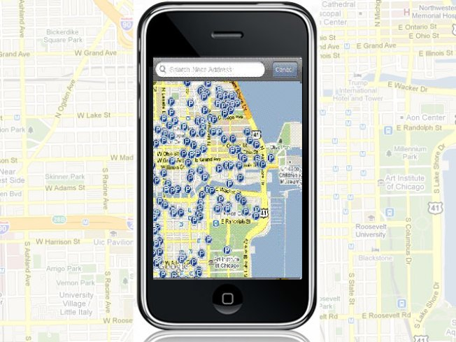 iPhone App Finds Best Parking Deal