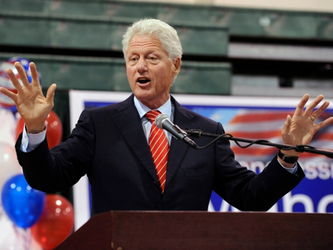 Bill Clinton's Tuesday Rally Open to the Public