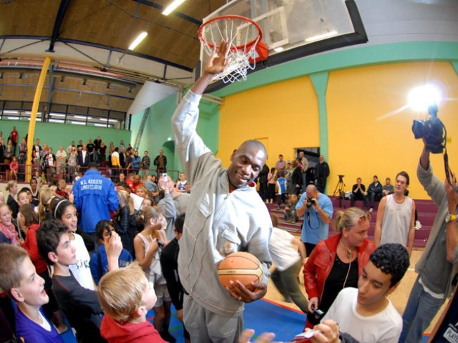 Mt. Mutombo Takes His Game Globally