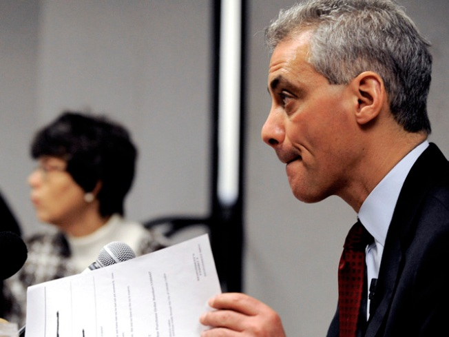 Rahm Emanuel Holds Commanding Early Lead