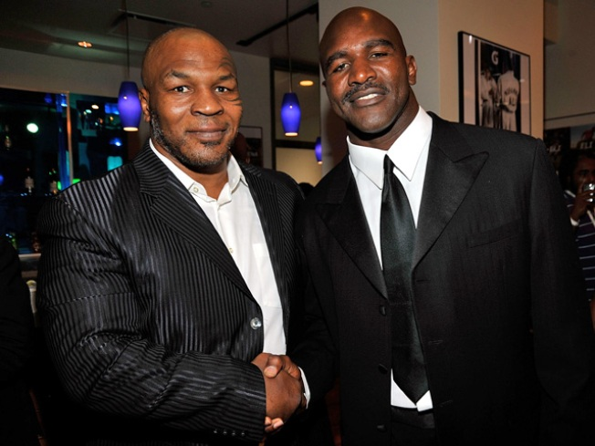 Round Two for Tyson, Holyfield