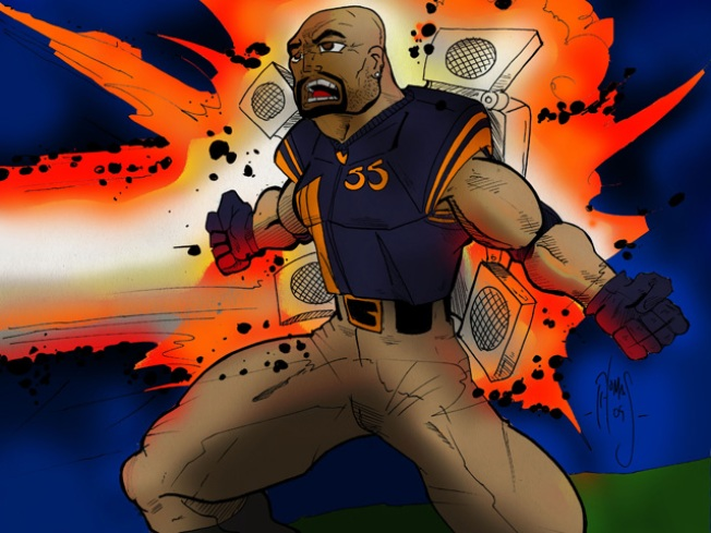 Lance Briggs, Comic Book Superhero?