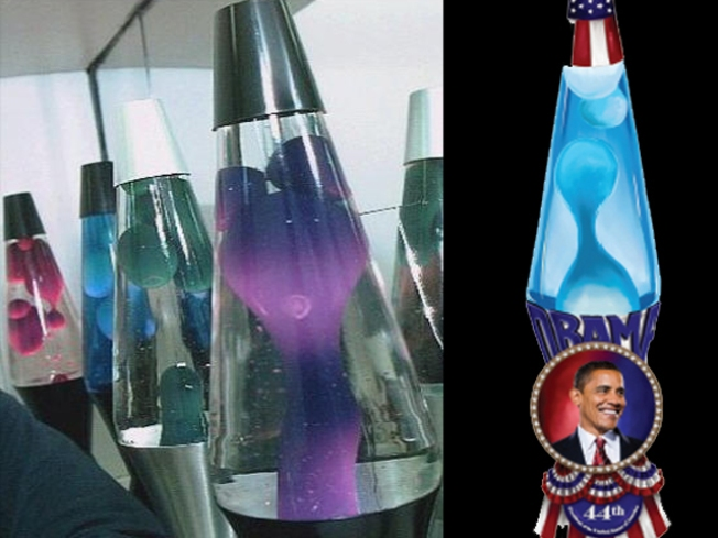 Lava Lamp Honors Obama With Goo