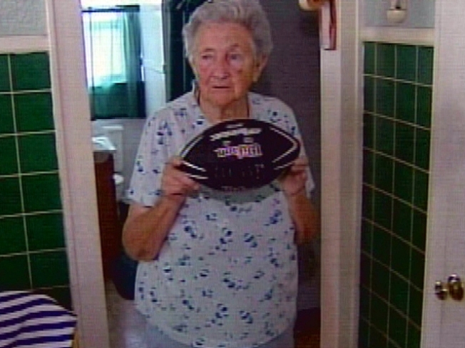 Woman, 89, Accused of Stealing Kids' Football