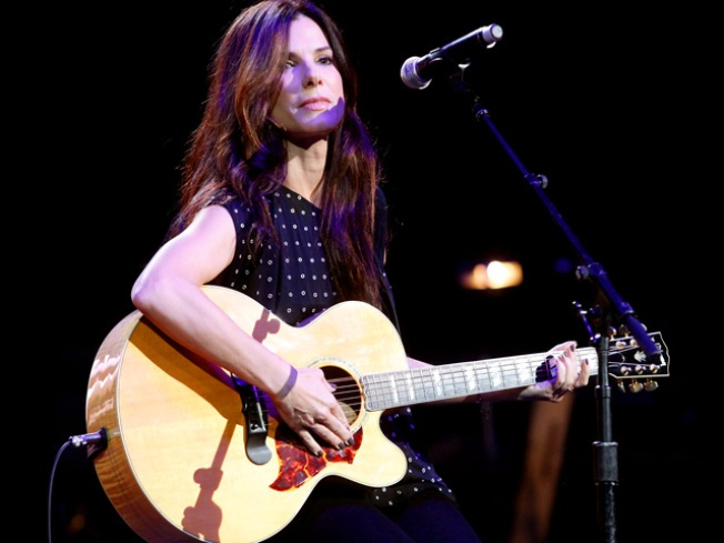 Sandra Bullock Steals the Stage at Nashville Relief Concert