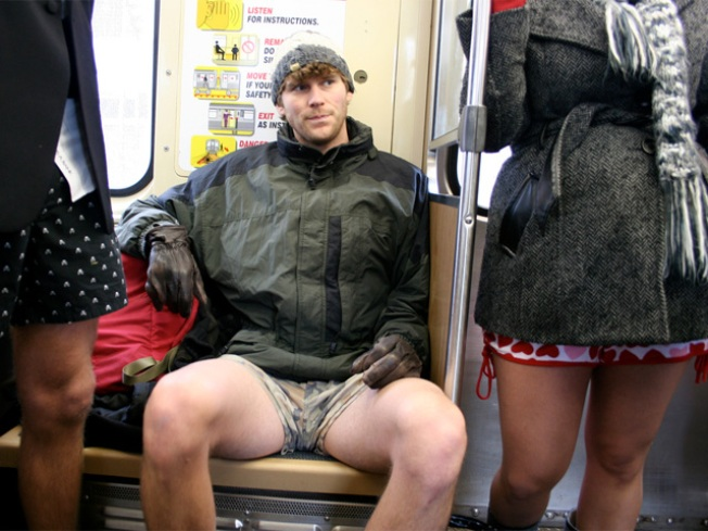 Ride the eL, Leave Your Pants at Home