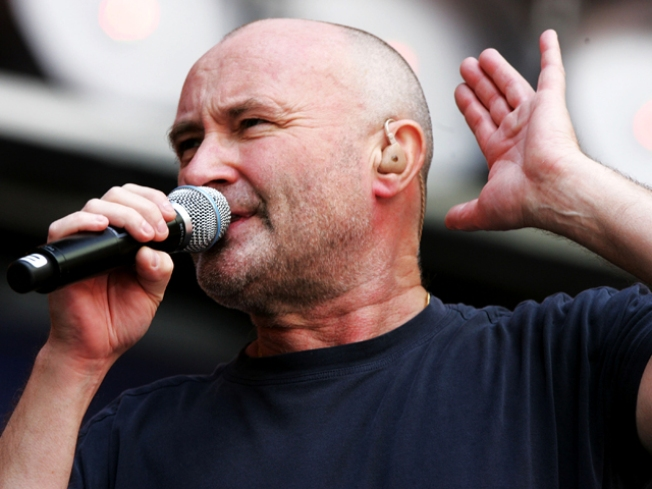 Phil Collins Plagued by Dark Thoughts