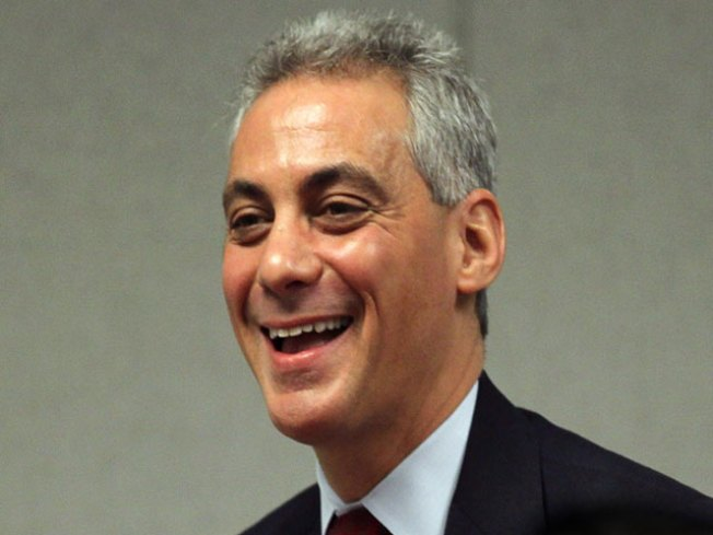 Emanuel In Full Front-Runner Mode