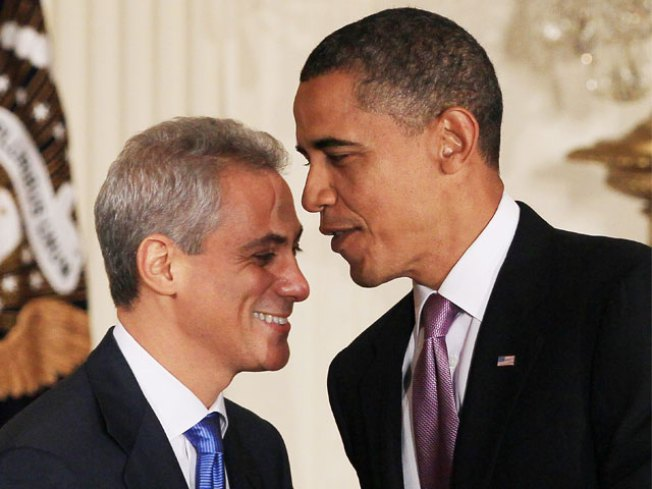 Obama Stars in Emanuel Ad
