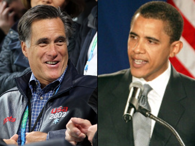 GOP Leader Mitt Romney Heads to Chicago