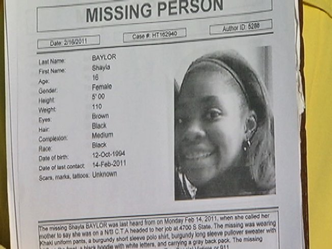 Detectives Look for Missing Teen