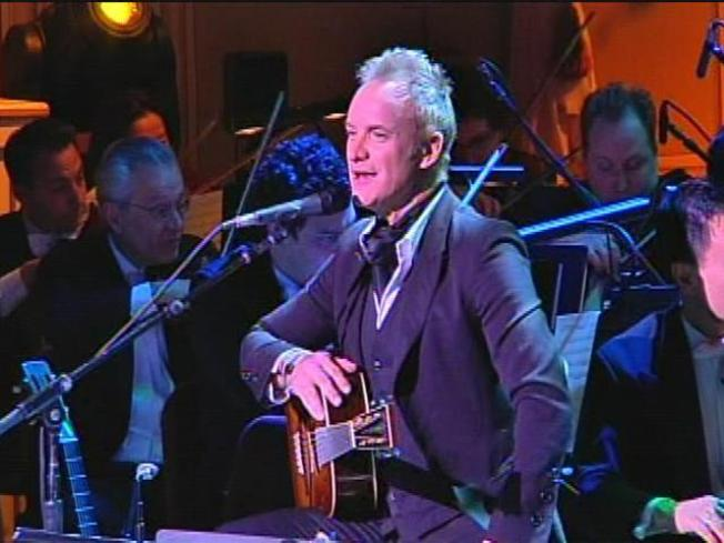 Sting Bringing Full Scale Orchestra to Ravinia