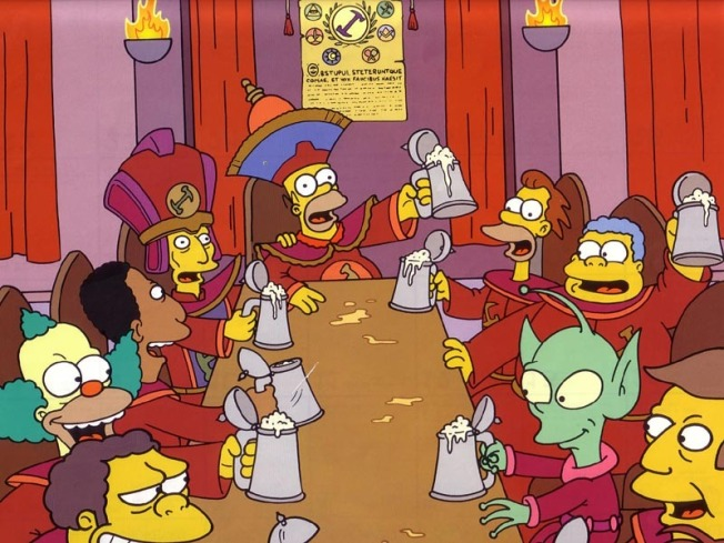 """Simpsons"" Trivia at Ginger's Ale House"