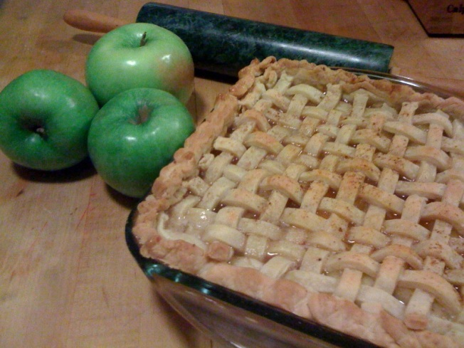 Apples Join Peaches For A Tasty Cobbler