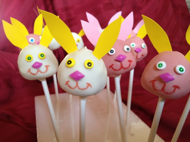 Bunny Pops Are A Sweet Treat For Easter Or Any Holiday