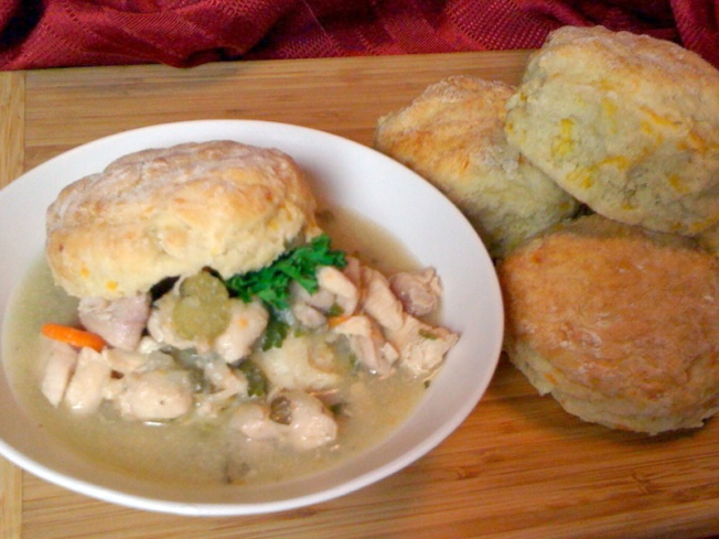 Chicken And Biscuits Warm You Up On Cold Nights