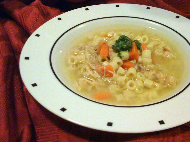 Two Wayne's Create The Perfect Chicken Noodle Soup
