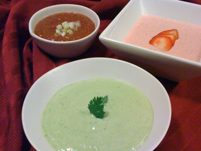 Chilled Soups Are Perfect Starters For Summertime Meals