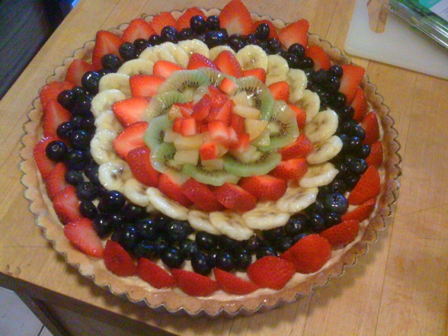 Farmers Market Provides Fresh Fruit For Homemade Tarts