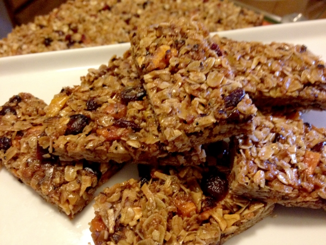 Homemade Granola Bars Are The Perfect Portable Snack