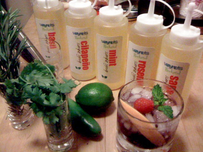 Fresh Herbs Make Great Summer Drinks
