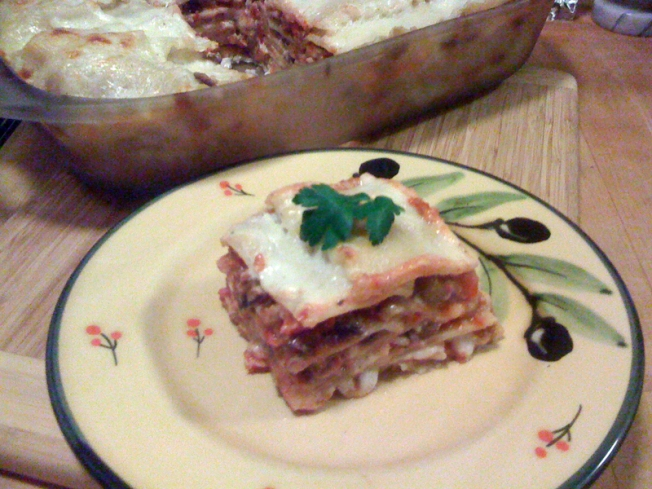 Lasagna Two Ways: Vegetarian And Gluten Free