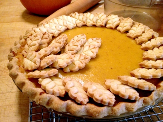 Make Pumpkin Pies With A Little Extra Flair
