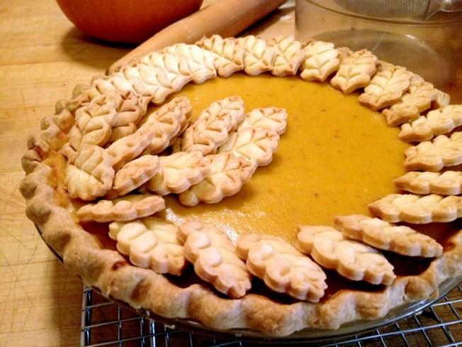Make Pumpkin Pies With A Little Extra Flair