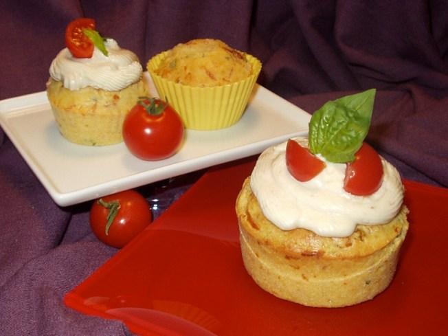 Wayne Johnson Prepares Savory Cupcakes Italian Style