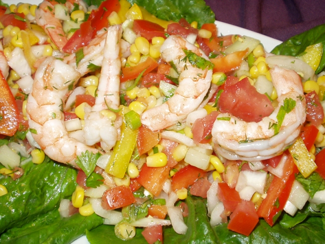 Shrimp Salad Special For Outdoor Dining