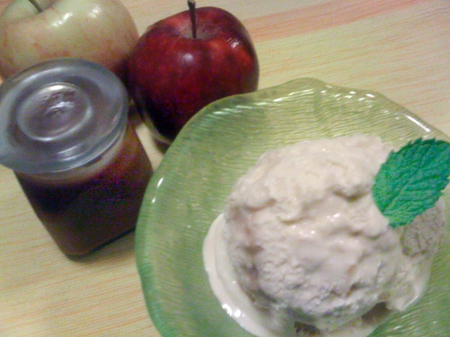 Caramel Apple Ice Cream And Fresh Berries Cool A Hot Summer Night
