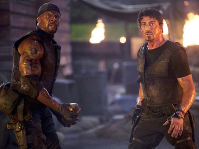 'Expendables' is No. 1 at Box Office