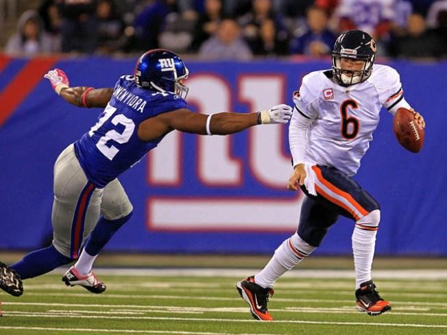 Bears Play Coy on Cutler's Head