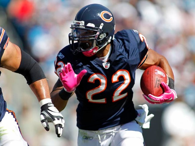 Bears Run Over Panthers 23-6