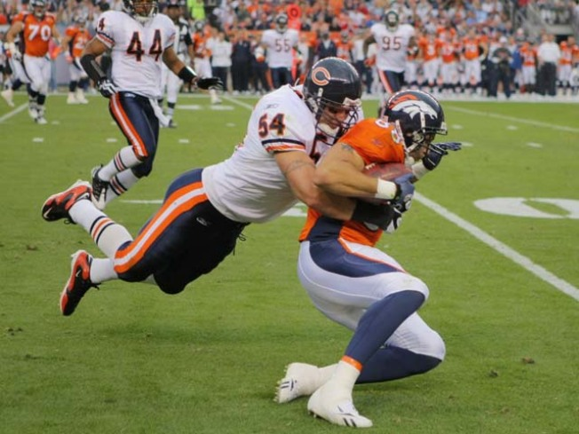 Urlacher and Harris Not Fans of Big Fines for Big Hits