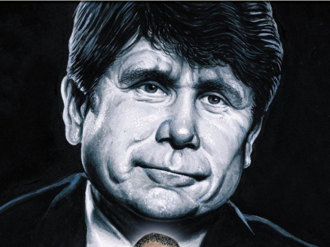 Blagojevich Puts the Con in ComicCon