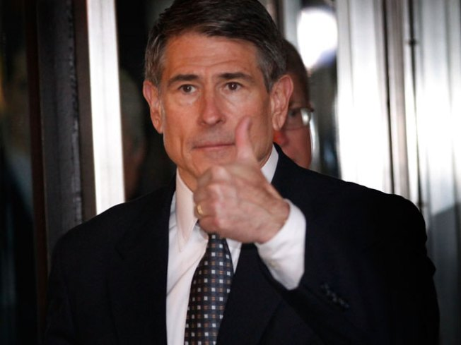 Portrait of Robert Blagojevich as a Virtuous Man