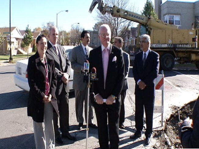 Ald. Burke Announces $150 Million Roads Project