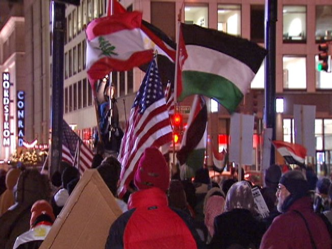 Egyptian Unrest Spawns Second Chicago Rally