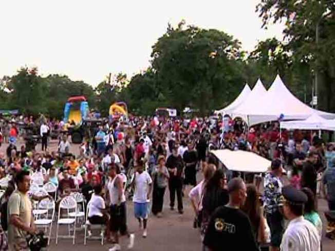 Thousands Gather to Take Stand Against Crime