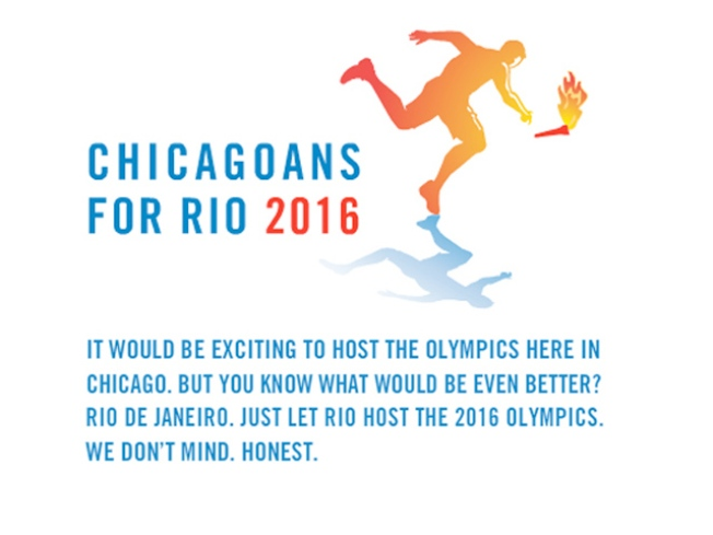 Chicagoans Back the Bid ... for Rio