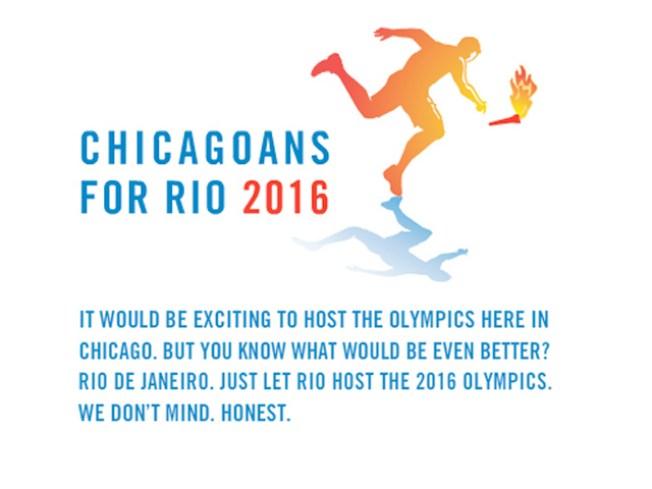 Chicagoans Back the Bid ... for Rio