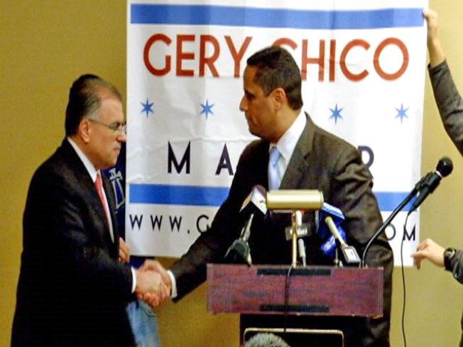 De Jesus Out, Backs Chico in Mayor's Race