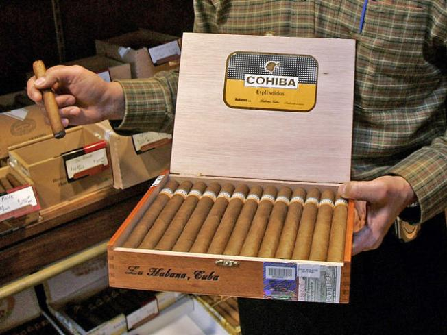 Thousands of Cuban Cigars Seized at O'Hare