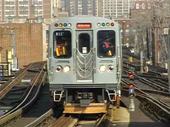 Track Work to Interrupt Red, Blue Line Service