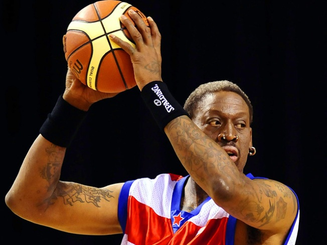 "Former NBA Star Dennis Rodman Broke and ""Extremely Sick"""