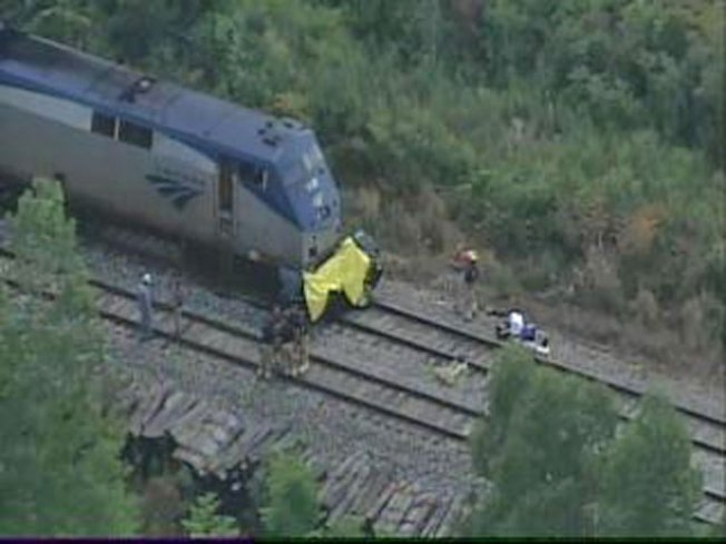 Chicago-Bound Train Strikes Car; 5 Dead