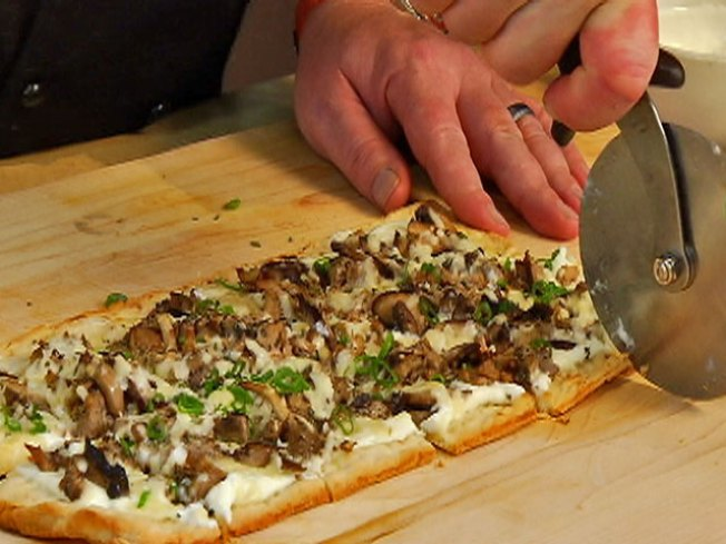 Olympic Recipe: Duck Confit & Wild Mushroom Flatbread